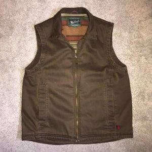 Men's medium Woolrich fleece lined vest